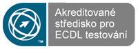 Logo Akreditované středisko pro ECDL testování