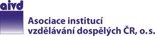 Logo Asociace institucí vzdělávání dospělých ČR, o.s.